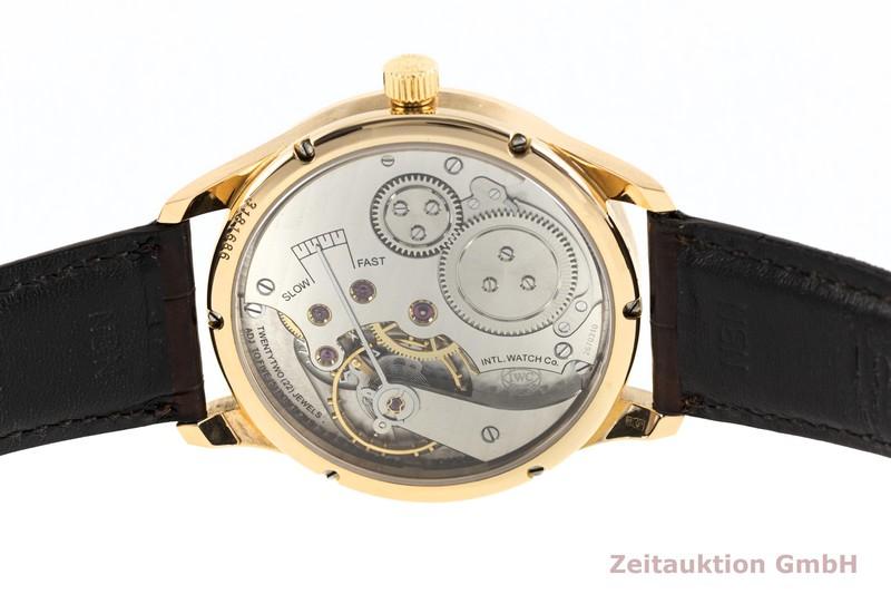 gebrauchte Luxusuhr IWC Portugieser 18k Gold Handaufzug Kal. 98245 Ref. 5444  | 2004296 _0