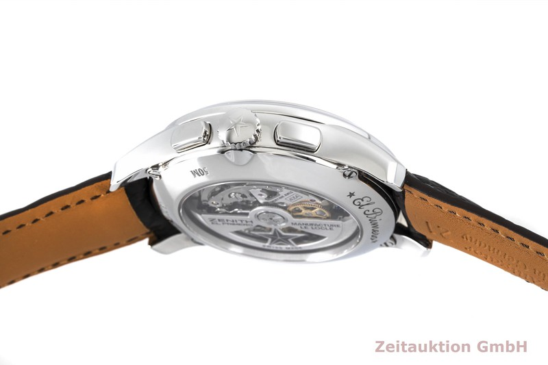 gebrauchte Luxusuhr Zenith El Primero Chronograph Stahl Automatik Kal. 4054 Ref. 03.2070.4054  | 2004297 _0