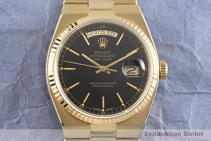 gebrauchte Luxusuhr Rolex Day-Date 18k Gold Quarz Kal. 5055 Ref. 19018  | 2004328 _1