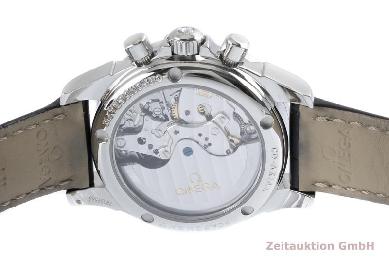 gebrauchte Luxusuhr Omega De Ville Chronograph Stahl Automatik Kal. 3313 Ref. 422.18.35.50.05.002  | 2004344 _0