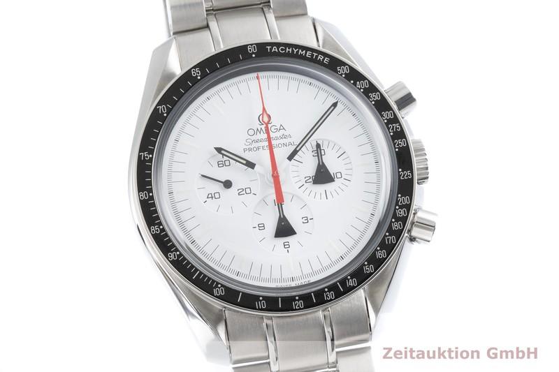 gebrauchte Luxusuhr Omega Speedmaster Moonwatch Chronograph Stahl Handaufzug Kal. 1861 Ref. 311.32.42.30.04.001, 145.0302 LIMITED EDITION | 2004359 _0