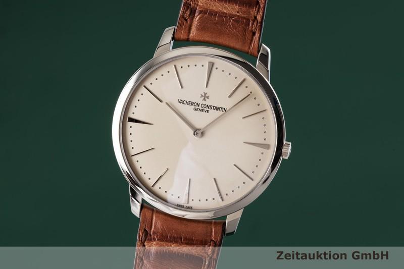 gebrauchte Luxusuhr Vacheron & Constantin Patrimony 18k Weissgold Handaufzug Kal. 1400 Ref. 81180  | 2004369 _0