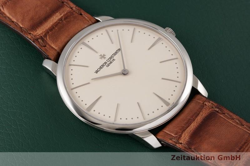 gebrauchte Luxusuhr Vacheron & Constantin Patrimony 18k Weissgold Handaufzug Kal. 1400 Ref. 81180  | 2004369 _1