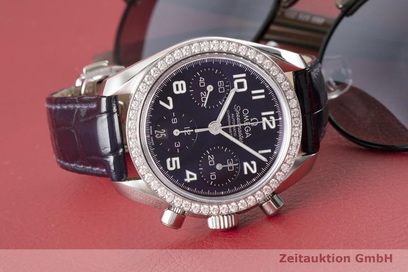 gebrauchte Luxusuhr Omega Speedmaster Chronograph Stahl Automatik Kal. 3304 Ref. 278.0091  | 2004373 _1