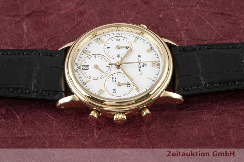 gebrauchte Luxusuhr Blancpain Villeret Chronograph 18k Gold Automatik Kal. 1186    2004374 _0