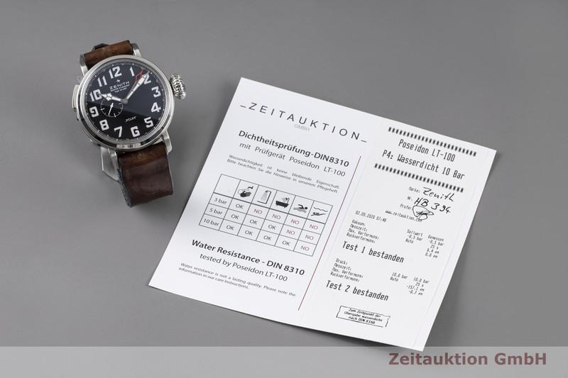 gebrauchte Luxusuhr Zenith Pilot Stahl Automatik Kal. 693 Ref. 03.2430.693  | 2004378 _0