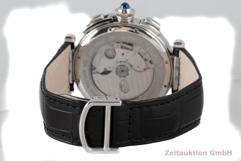 gebrauchte Luxusuhr Cartier Pasha Chronograph Stahl Automatik Kal. 8100 MC Ref. 2860    2004423 _1