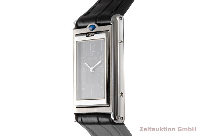gebrauchte Luxusuhr Cartier Basculante Stahl Quarz Kal. 059 Ref. 2405    2004432 _0