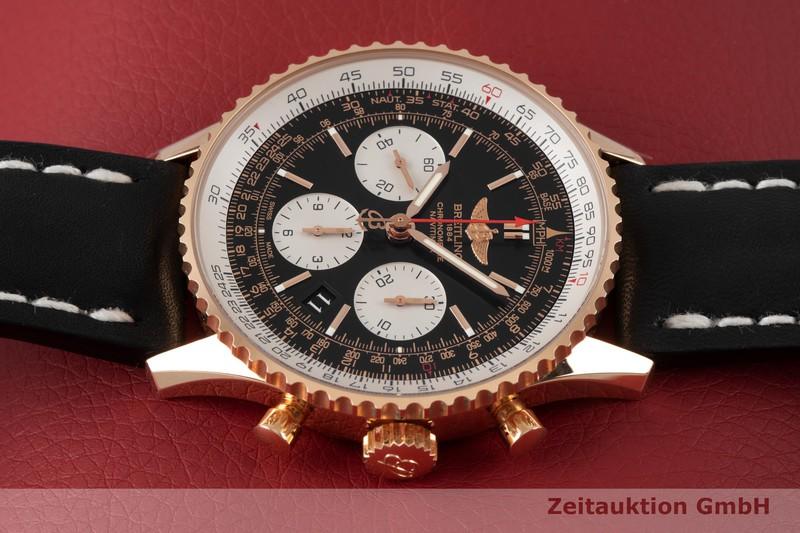 gebrauchte Luxusuhr Breitling Navitimer 01 Chronograph 18k Rotgold Automatik Ref. RB0120  | 2004469 _0