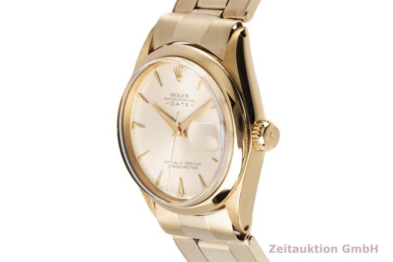 gebrauchte Luxusuhr Rolex Date 18k Gold Automatik Kal. 1130 Ref. 6627 VINTAGE    2004480 _0
