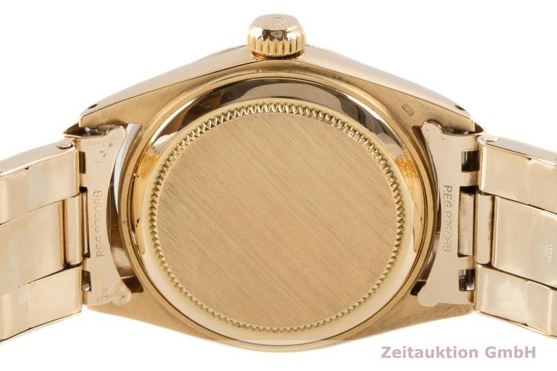 gebrauchte Luxusuhr Rolex Date 18k Gold Automatik Kal. 1130 Ref. 6627 VINTAGE    2004480 _1