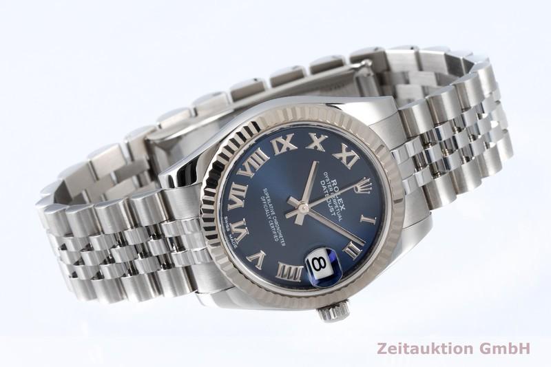 gebrauchte Luxusuhr Rolex Datejust Stahl / Weissgold Automatik Kal. 2235 Ref. 178274    2004484 _0