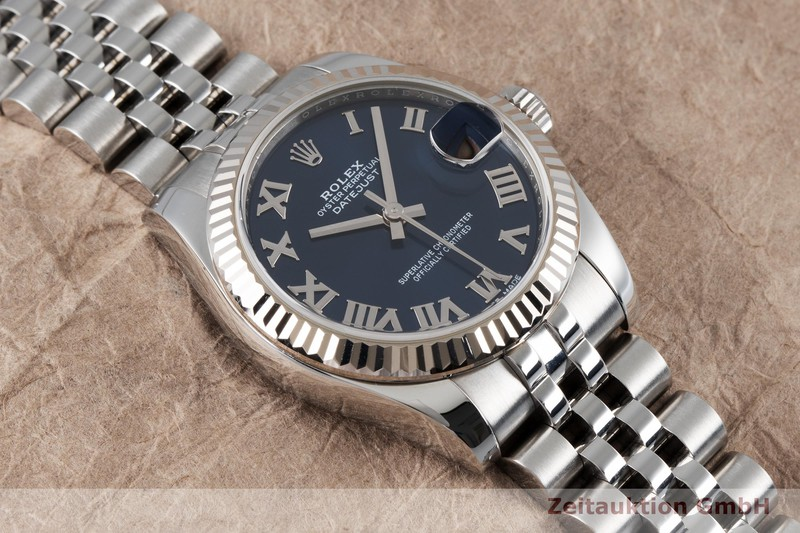 gebrauchte Luxusuhr Rolex Datejust Stahl / Weissgold Automatik Kal. 2235 Ref. 178274    2004484 _1