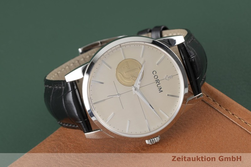 gebrauchte Luxusuhr Corum Lira 1 Cornucopia Stahl Handaufzug Kal. ETA 7001 Ref. 07.0008 LIMITED EDITION | 2004528 _1