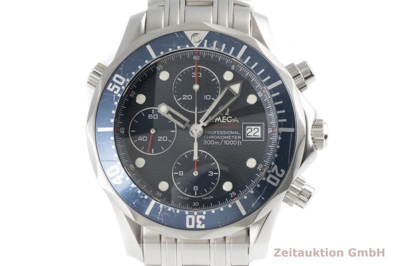 gebrauchte Luxusuhr Omega Seamaster Chronograph Stahl Automatik Kal. 1164B Ref. 178.0522    2004554 _0