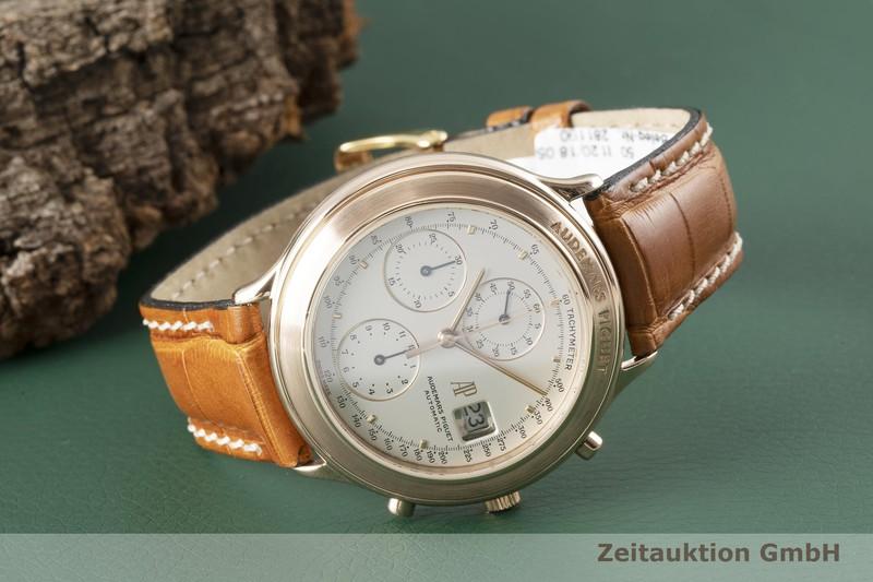 gebrauchte Luxusuhr Audemars Piguet Huitieme Chronograph 18k Rotgold Automatik Kal. 2126    2004560 _1