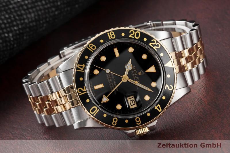 gebrauchte Luxusuhr Rolex GMT Master Stahl / Gold Automatik Kal. 3075 Ref. 16753  | 2004561 _1