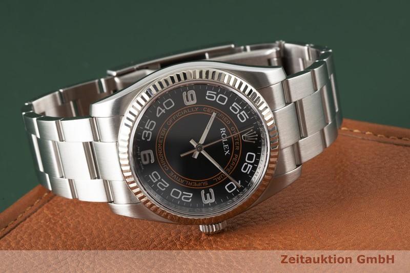 gebrauchte Luxusuhr Rolex Oyster Perpetual Stahl / Weissgold Automatik Kal. 3130 Ref. 116034    2004574 _1