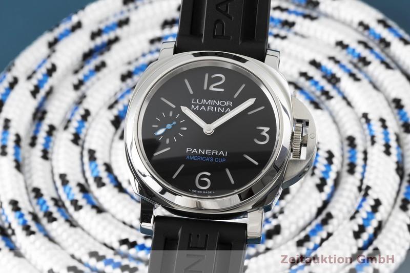 gebrauchte Luxusuhr Panerai Luminor Marina Stahl Handaufzug Kal. P.5000 Ref. PAM00724, OP7139  | 2004597 _0