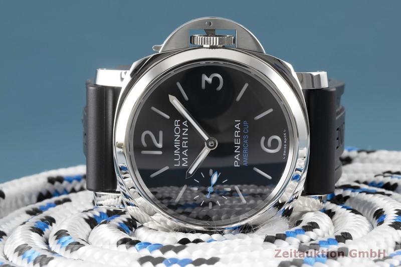 gebrauchte Luxusuhr Panerai Luminor Marina Stahl Handaufzug Kal. P.5000 Ref. PAM00724, OP7139  | 2004597 _1