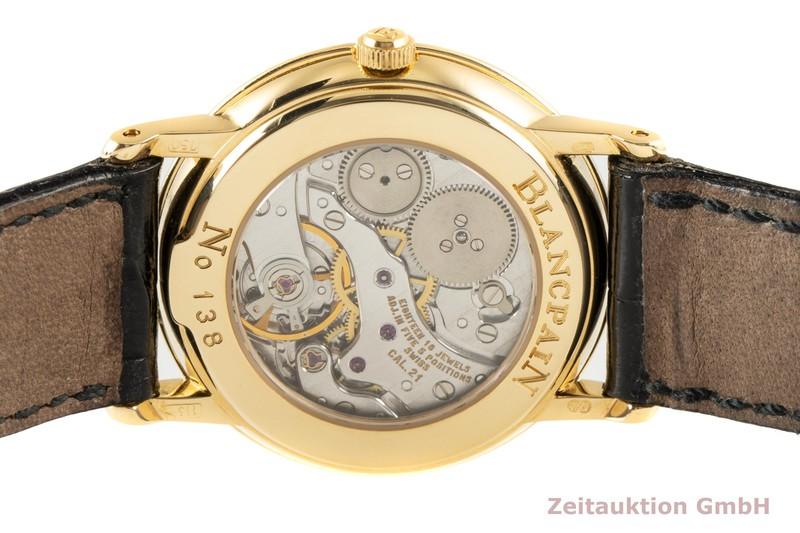 gebrauchte Luxusuhr Blancpain Villeret 18k Gold Handaufzug Kal. 21  | 2004620 _1