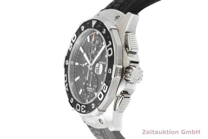 gebrauchte Luxusuhr Tag Heuer Aquaracer Chronograph Stahl Automatik Kal. 7750 Ref. CAJ2110  | 2004626 _0