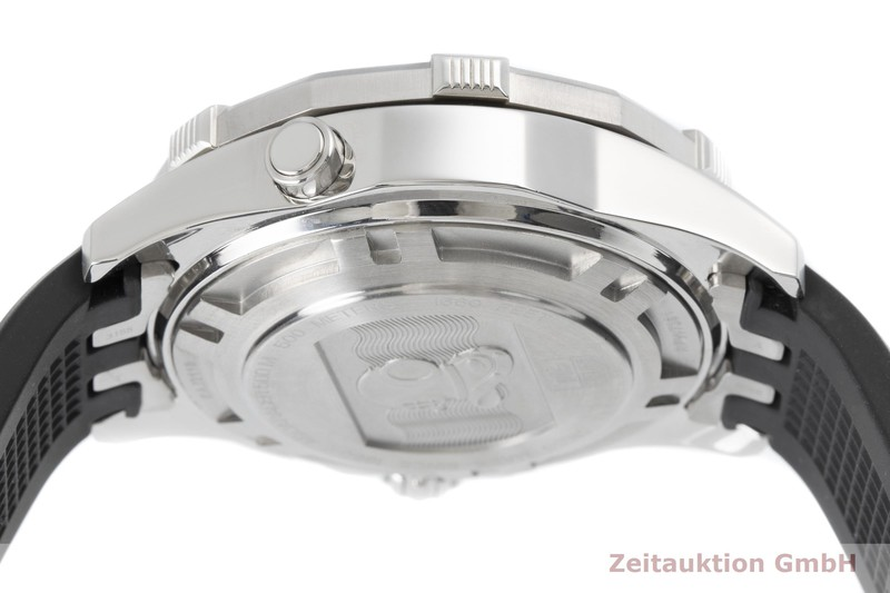 gebrauchte Luxusuhr Tag Heuer Aquaracer Chronograph Stahl Automatik Kal. 7750 Ref. CAJ2110  | 2004626 _1