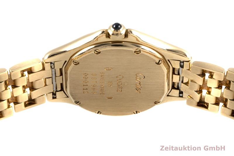 gebrauchte Luxusuhr Cartier Cougar 18k Gold Quarz Kal. 87 Ref. 887906    2004645 _1
