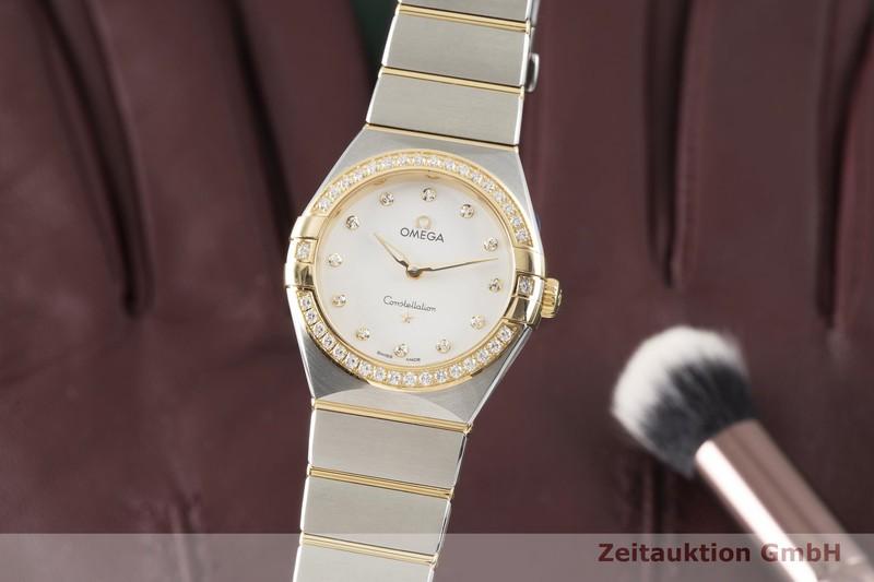 gebrauchte Luxusuhr Omega Constellation Stahl / Gold Quarz Kal. 4061 Ref. 131.25.28.60.52.002, STZ008353  | 2004651 _0