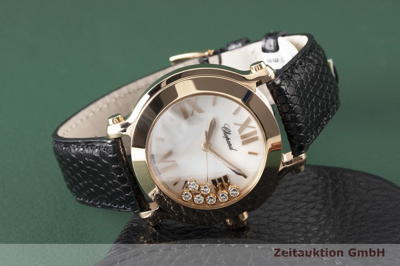 gebrauchte Luxusuhr Chopard Happy Sport 18k Rotgold Quarz Kal. ETA 955.112 Ref. 27/7471  | 2004652 _1