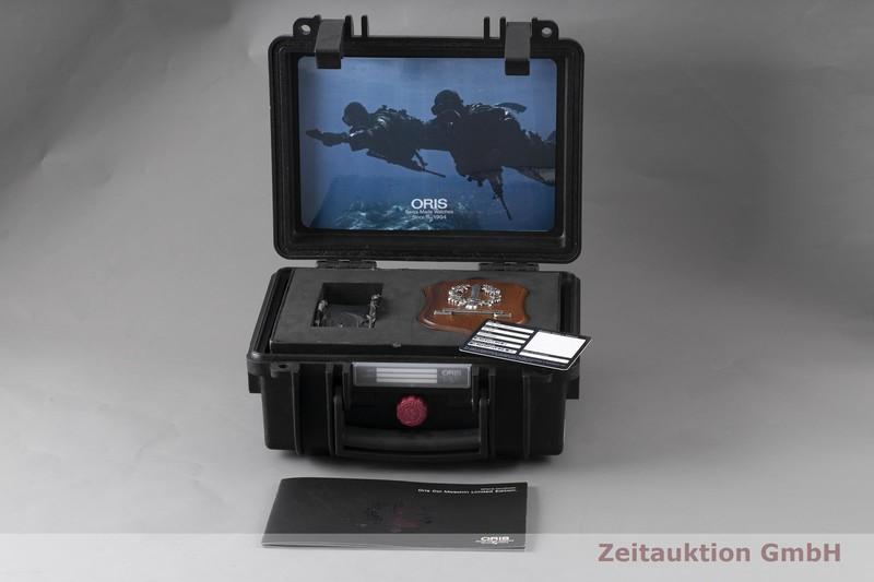 gebrauchte Luxusuhr Oris Col Moschin Titan Automatik Kal. 66721JEW, ETA 2897 Ref. 0166776457284 LIMITED EDITION   2004680 _0