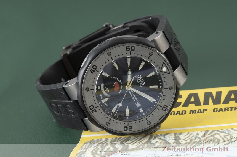gebrauchte Luxusuhr Oris Col Moschin Titan Automatik Kal. 66721JEW, ETA 2897 Ref. 0166776457284 LIMITED EDITION   2004680 _1