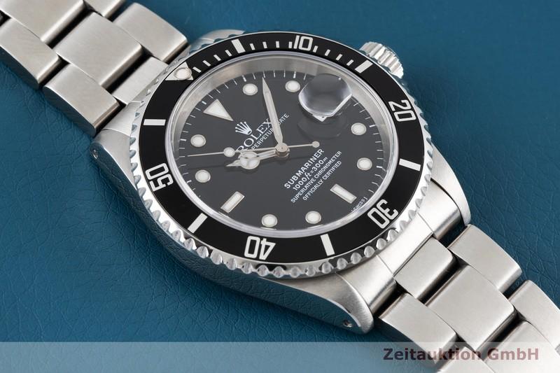 gebrauchte Luxusuhr Rolex Submariner Stahl Automatik Kal. 3135 Ref. 16610  | 2004684 _1
