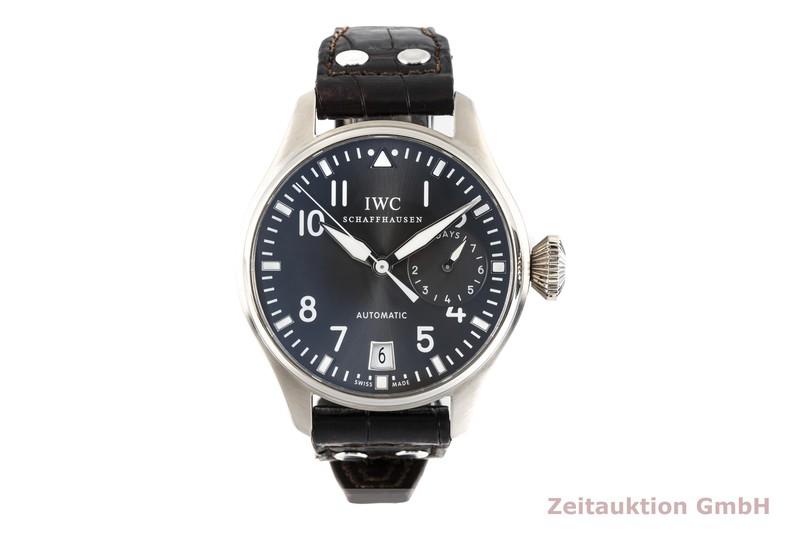 gebrauchte Luxusuhr IWC Fliegeruhr 18k Weissgold Automatik Kal. C.51110 Ref. 5004  | 2004686 _0