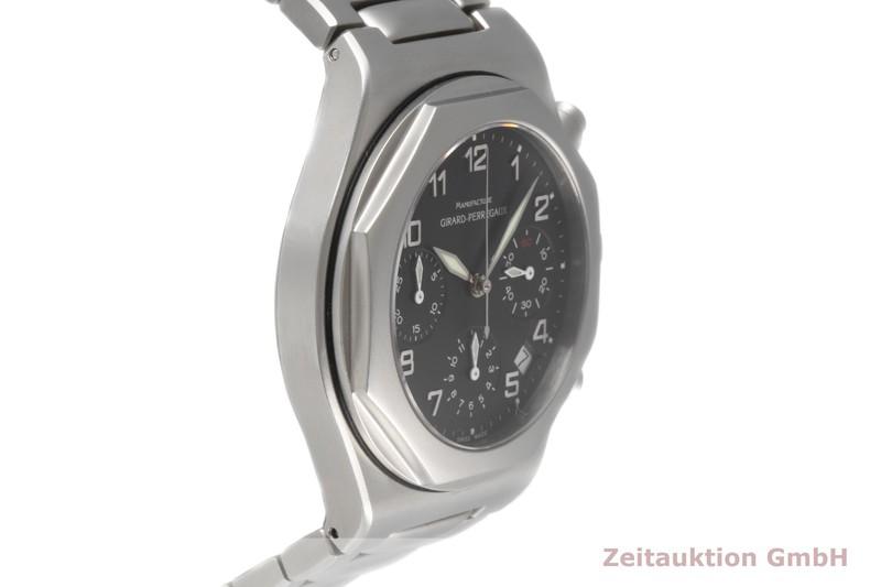 gebrauchte Luxusuhr Girard Perregaux Laureato Chronograph Stahl Automatik Kal. 3170-579 Ref. 8017 LIMITED EDITION   2004707 _0