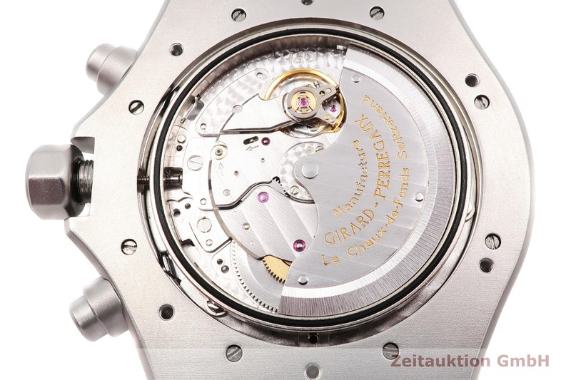 gebrauchte Luxusuhr Girard Perregaux Laureato Chronograph Stahl Automatik Kal. 3170-579 Ref. 8017 LIMITED EDITION   2004707 _1