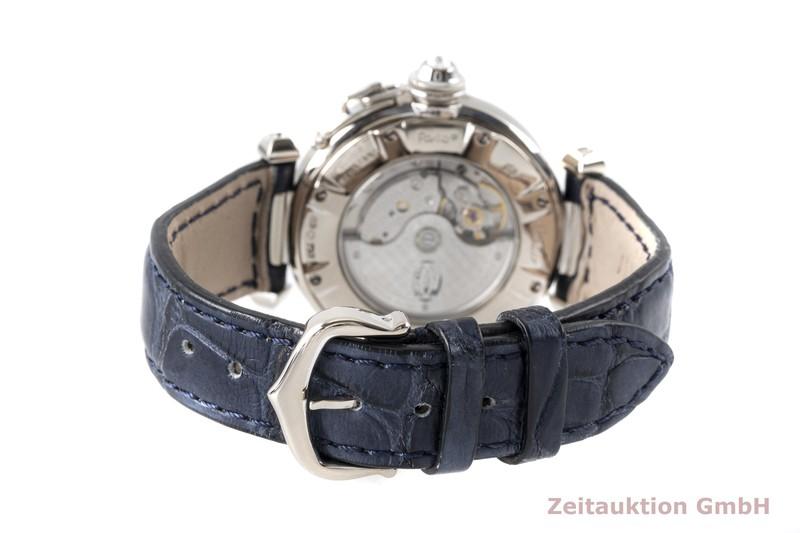 gebrauchte Luxusuhr Cartier Pasha 18k Weissgold Automatik Kal. 500 MC Ref. 2528  | 2004726 _1