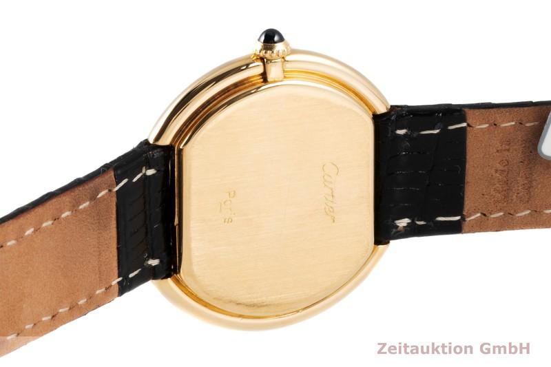 gebrauchte Luxusuhr Cartier Ellipse 18k Gold Handaufzug Kal. 78-1  | 2004728 _1