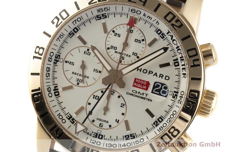 gebrauchte Luxusuhr Chopard Mille Miglia Chronograph 18k Gold Automatik Kal. ETA 7754 Ref. 161267-5001  | 2004742 _1