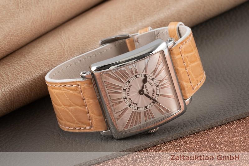 gebrauchte Luxusuhr Franck Muller Master Square Stahl Quarz Kal. 751 Ref. 6002 M QZ RE LR  | 2004762 _1