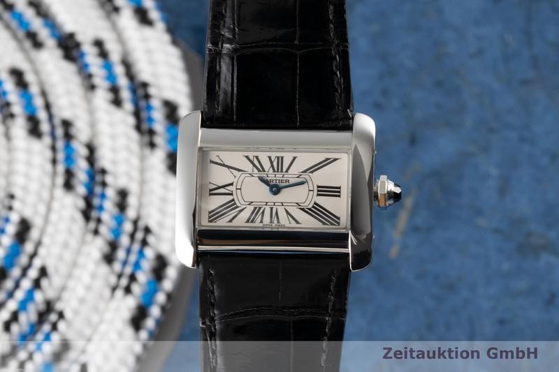 gebrauchte Luxusuhr Cartier Tank Divan Stahl Quarz Kal. 157 Ref. 2599  | 2004771 _0