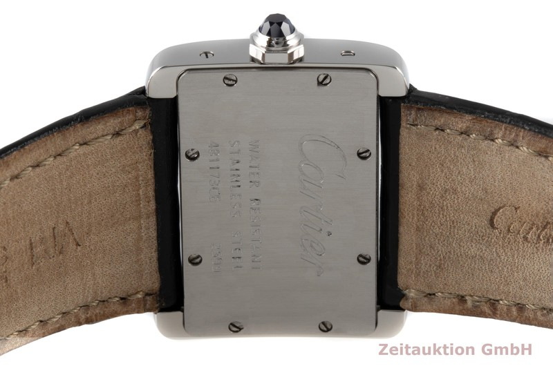 gebrauchte Luxusuhr Cartier Tank Divan Stahl Quarz Kal. 157 Ref. 2599  | 2004771 _1