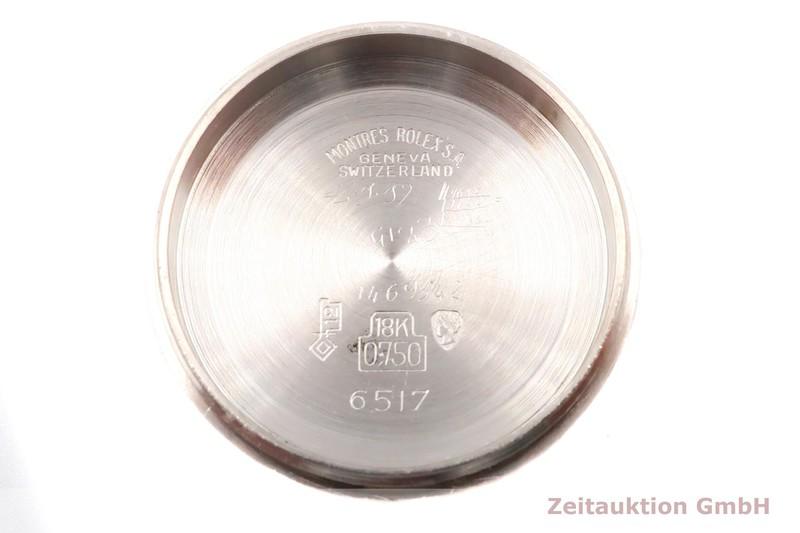 gebrauchte Luxusuhr Rolex Lady Date 18k Weissgold Automatik Kal. 1130 Ref. 6527 VINTAGE    2004773 _1