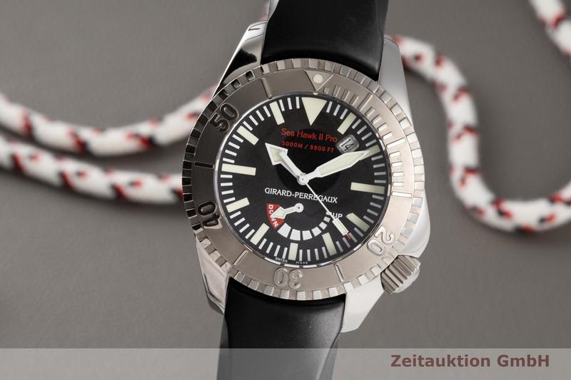 gebrauchte Luxusuhr Girard Perregaux Sea Hawk II Titan Automatik Kal. 330C Ref. 49940  | 2004777 _0