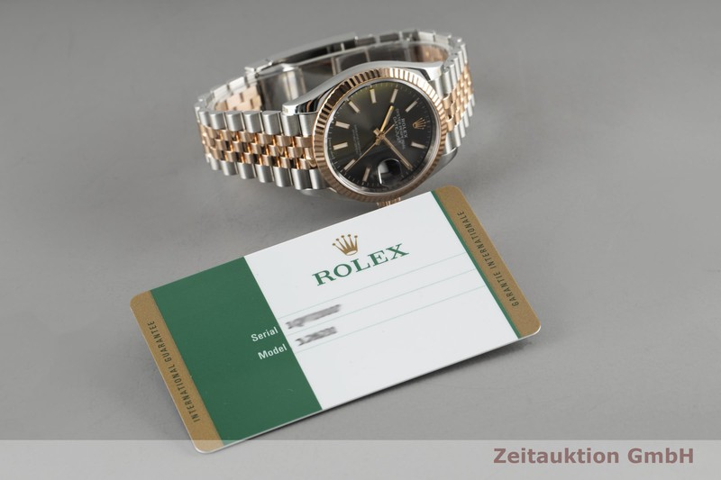 gebrauchte Luxusuhr Rolex Datejust Stahl / Gold Automatik Kal. 3235 Ref. 12631  | 2004779 _1