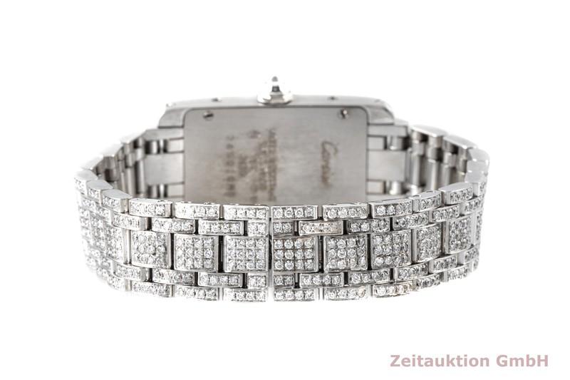 gebrauchte Luxusuhr Cartier Tank Américaine 18k Weissgold Quarz Kal. 157 Ref. 2489  | 2004796 _1