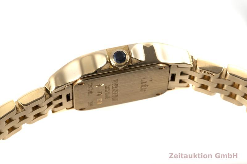 gebrauchte Luxusuhr Cartier Santos 18k Gold Quarz Kal. 157 Ref. 2699, W25063X9    2004821 _1