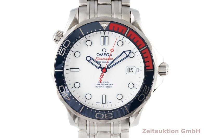 gebrauchte Luxusuhr Omega Seamaster Stahl Automatik Kal. 2507 Ref. 212.32.41.20.04.001 LIMITED EDITION | 2004892 _0