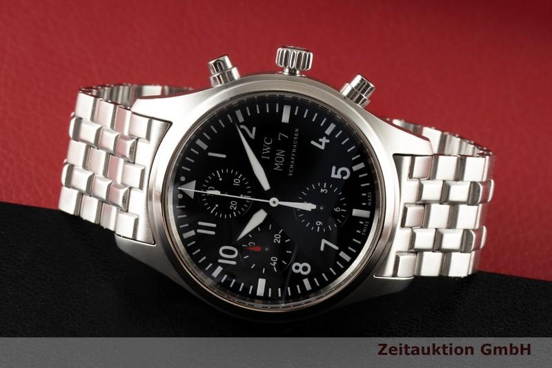 gebrauchte Luxusuhr IWC Fliegerchronograph Chronograph Stahl Automatik Kal. C.79320 Ref. 3717  | 2004934 _0