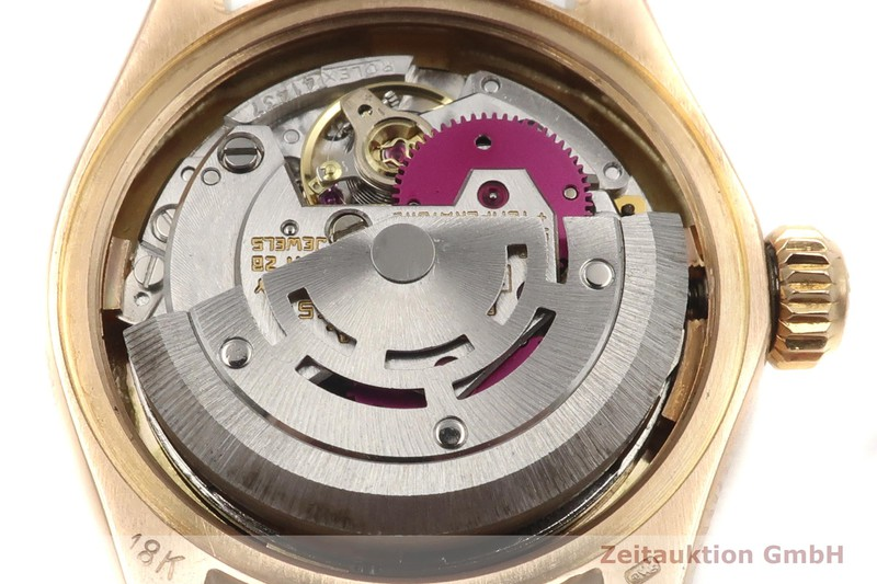 gebrauchte Luxusuhr Rolex Lady Datejust 18k Rotgold Automatik Kal. 2030 Ref. 6917 VINTAGE    2004935 _1